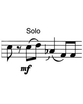 Soli für Blasorchester